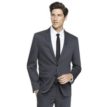 new Men's suits, The latest handsome men suits Slim Fit Black Tuxedos Wedding Suits Groom Two Buttons Tuxedos(jacket+pants)