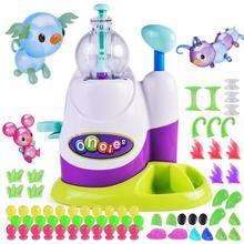 DIY надувные игрушки Забавный воздушный шар надувной креативный ручной надувной станок для мальчиков и девочек собранные БОБО липкие игрушки