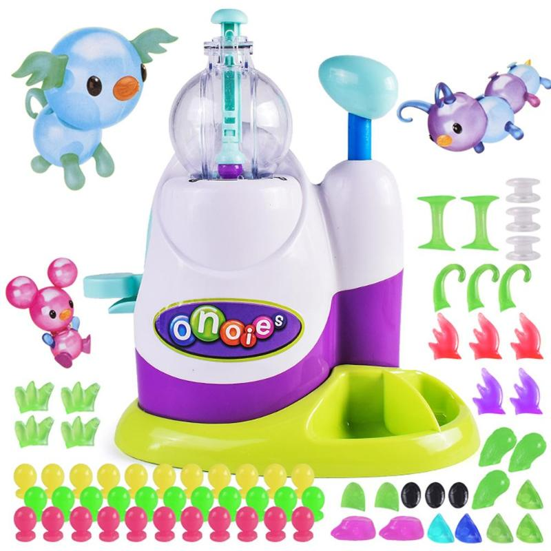 DIY Inflatable Toys Fun Balloon Inflator Creative Handicraft Inflating Machine For Boys Girls Assembled Bobo Sticky Toys