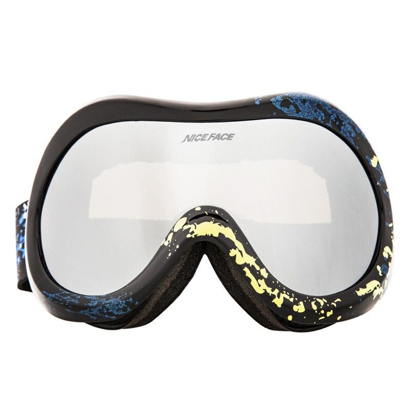 Acheter Lunettes de Ski Lunettes de Neige La Cécité UV De Protection lunettes de Soleil Sport Moto D'équitation Course Costume Anti Éblouissement Polaroid Lunettes de Ski Lunettes fiable fournisseurs
