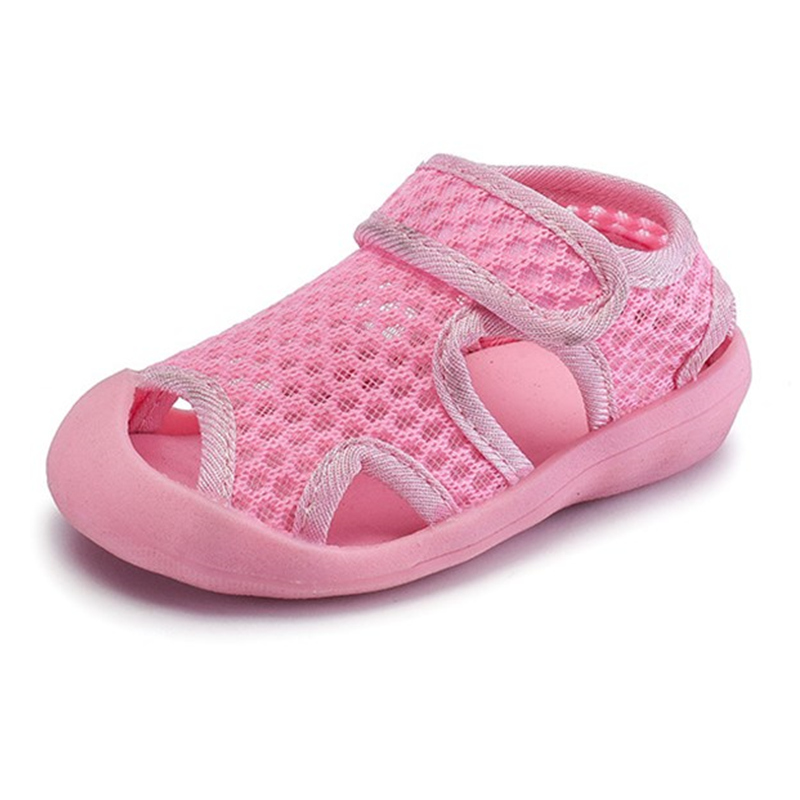 Sandals for Kids 2018 Summer Boys Mesh Breathable Closed Toe Beach Sandalias Children Girls Soft Orthopedic Shoes Cocuk Sandalet