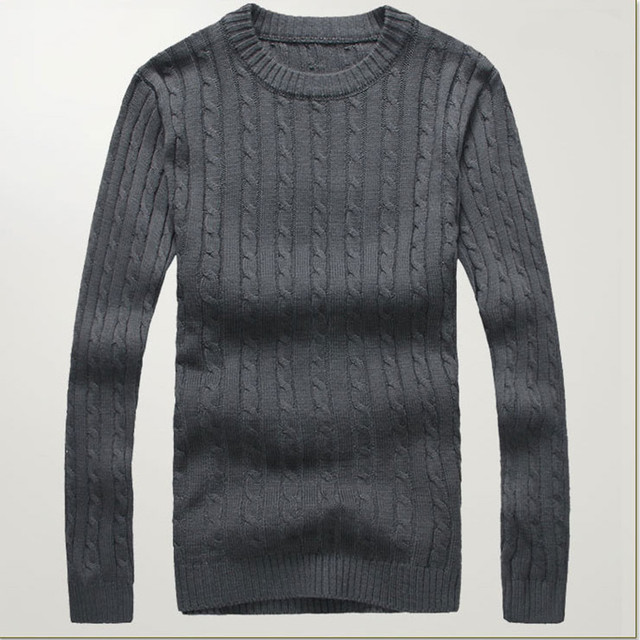 Mens Knit Sweater 2015 New O neck Casual Pullover Men Jumpers Winter Pullover Men  Black Navy Red Grey 6 Colors Pull Homme