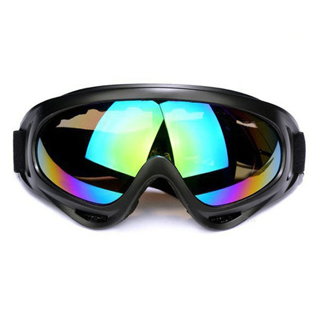 b4148cb91cac 5 Lens Colors Dust-proof Ski Sunglasses Cycling Hiking Outdoor Sports  Goggles Skate Eyewear UV400