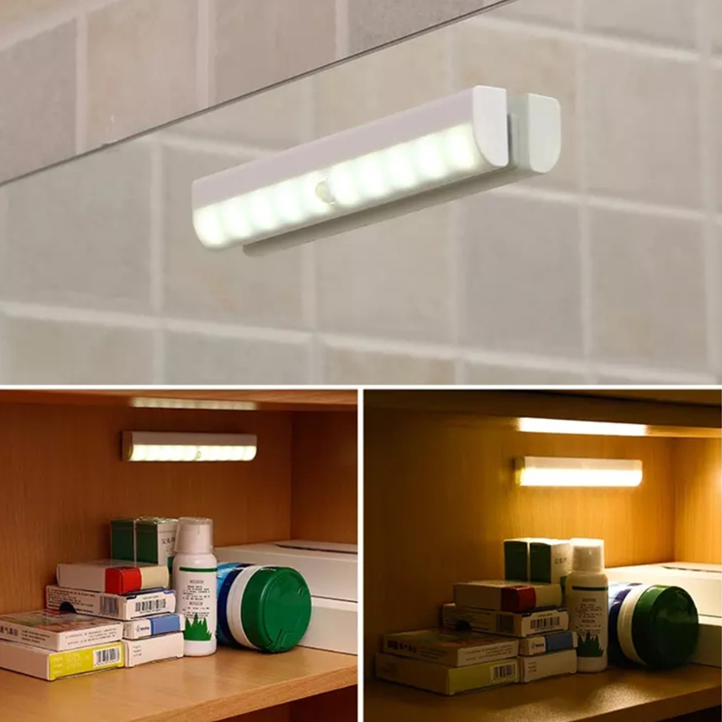 Wall Light Fixtures LED Infrared Induction Motion Sensor Lamp Wardrobe Cabinet L15