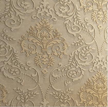 Lujo europeo del papel pintado 3d est reo 3d damasco for Papel pintado para paredes 3d