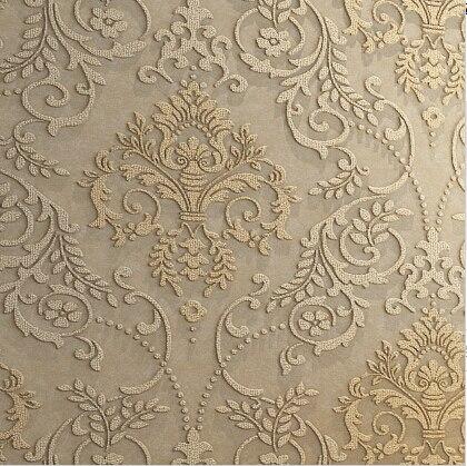 Lujo europeo del papel pintado 3d est reo 3d damasco - Papel vintage pared ...