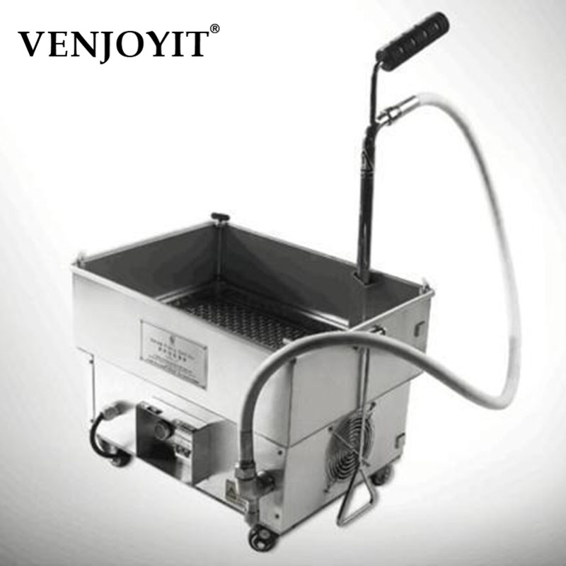 New 30L Oil Filter Oil Filtration System Filtering Machine for Frying Oil