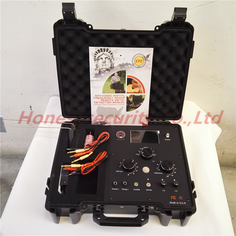 EPX10000 Long Range metal detector EPX 10000 Gold Silver Copper Tin and Jewel Metal Detector EPX-10000 Treasure Hunters 50m depth and 1000m range underground metal detector epx10000 deep depth long range metal detector epx 10000