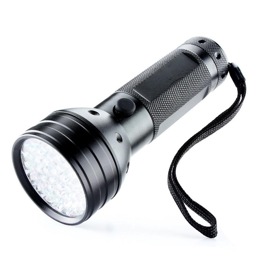New 51 LED 365nm UV Blacklight Ultraviolet Flashlight Torch Inspection Detection