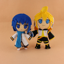 2 Styles Lovely Hatsune Miku Vocaloid Hatsune Miku Kaito kagamine Rin Len Plush Soft Stuffed Doll