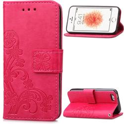 For Flip Wallet Case iPhone 5s Leather Case For iPhone 5 SE Shockproof Soft Silicone Cover Stand Phone Bag For iPhone 5c 3