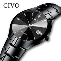 CIVO Relogio Masculino Luxury Brand Watch Men Waterproof Analogue Date Wristwatch Men's Quartz Watch Business Casual Men Watches