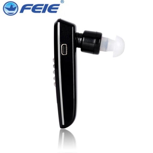 S-101 Fones De Ouvido Bluetooth recarregável APARELHO AUDITIVO BTE Surdos Hearing Aids Barato para As Pessoas Idosas