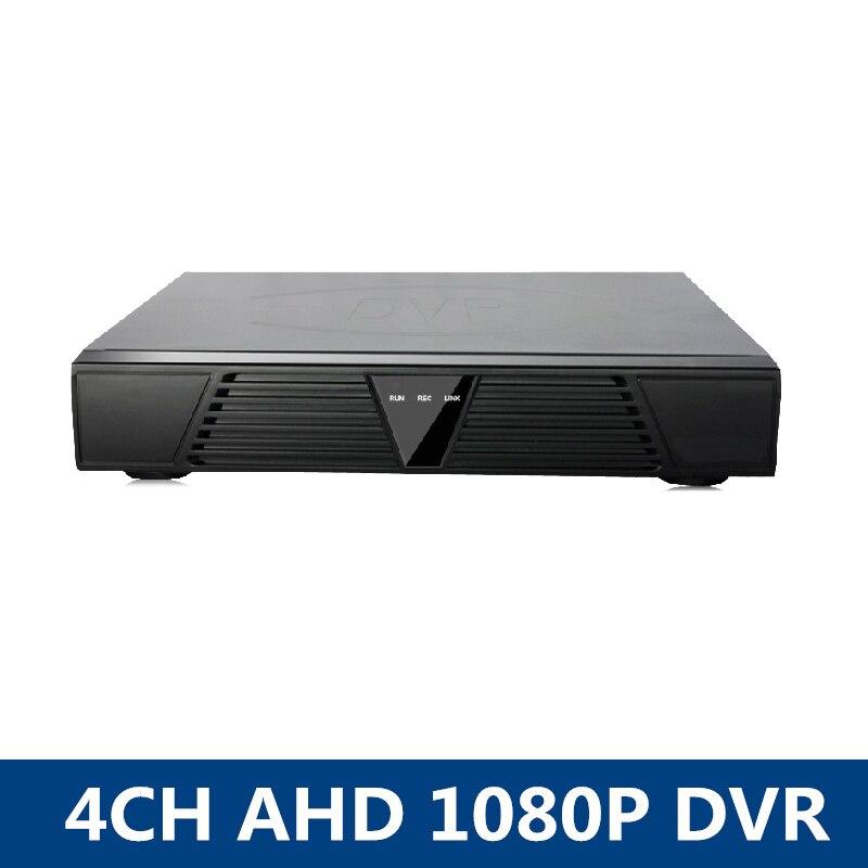 1080P AHD-H Hybrid 4CH AHD-M DVR Hybrid DVR/1080P NVR Video Recorder AHD DVR For AHD/Analog Camera IP Camera