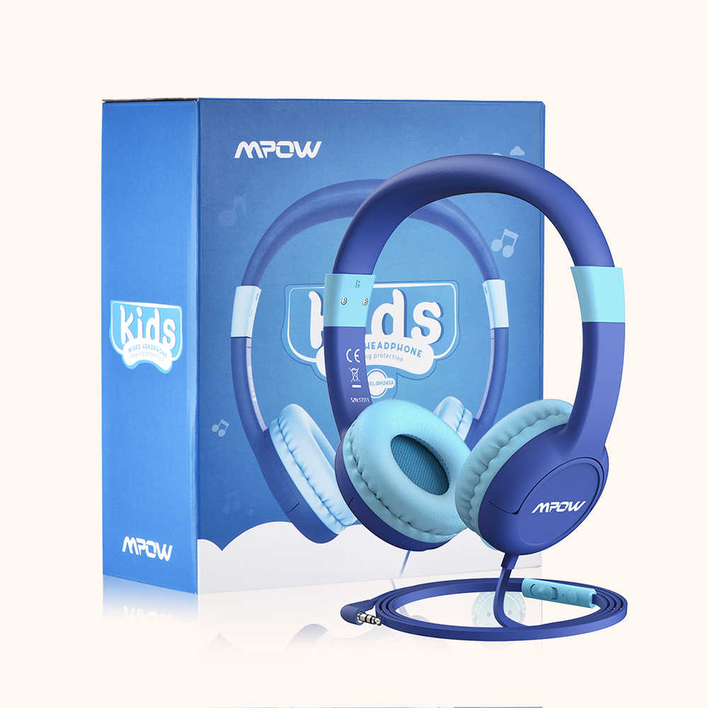 709c7c3c87e ... Mpow CH1S Kids Headphones 85DB Limited Hearing Protection Kid  Headphones Noise Cancelling Headphones For Boys/