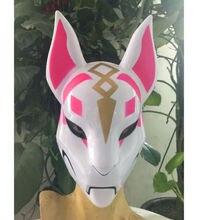 Fortnite Unisex Fox Drift Skin Mask Cosplay Costume-sale Eye Masks For Halloween