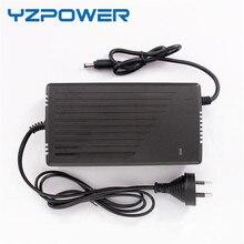 Yzpower 58.4 В 3A 3.5A 4A интеллектуальные LifePO4 Батарея Зарядное устройство для 16 s 48 В Lifepo4 Батарея