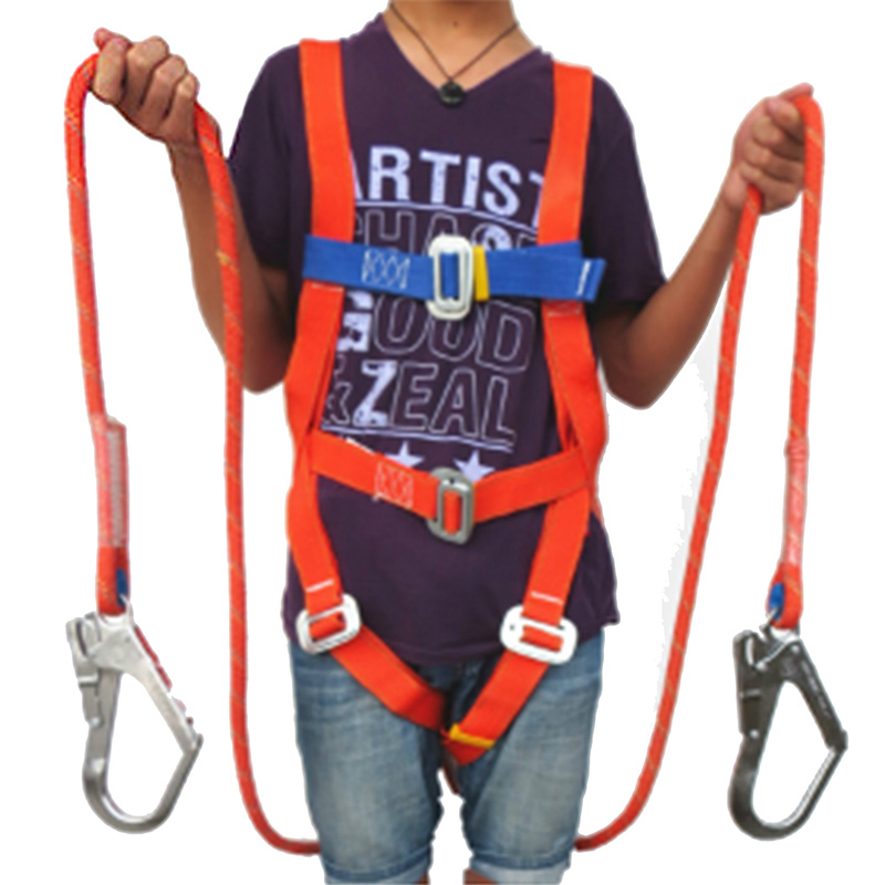 Safety Belt Five points Full body double hook Safety Harness For Labor Working Construction Worker Protect
