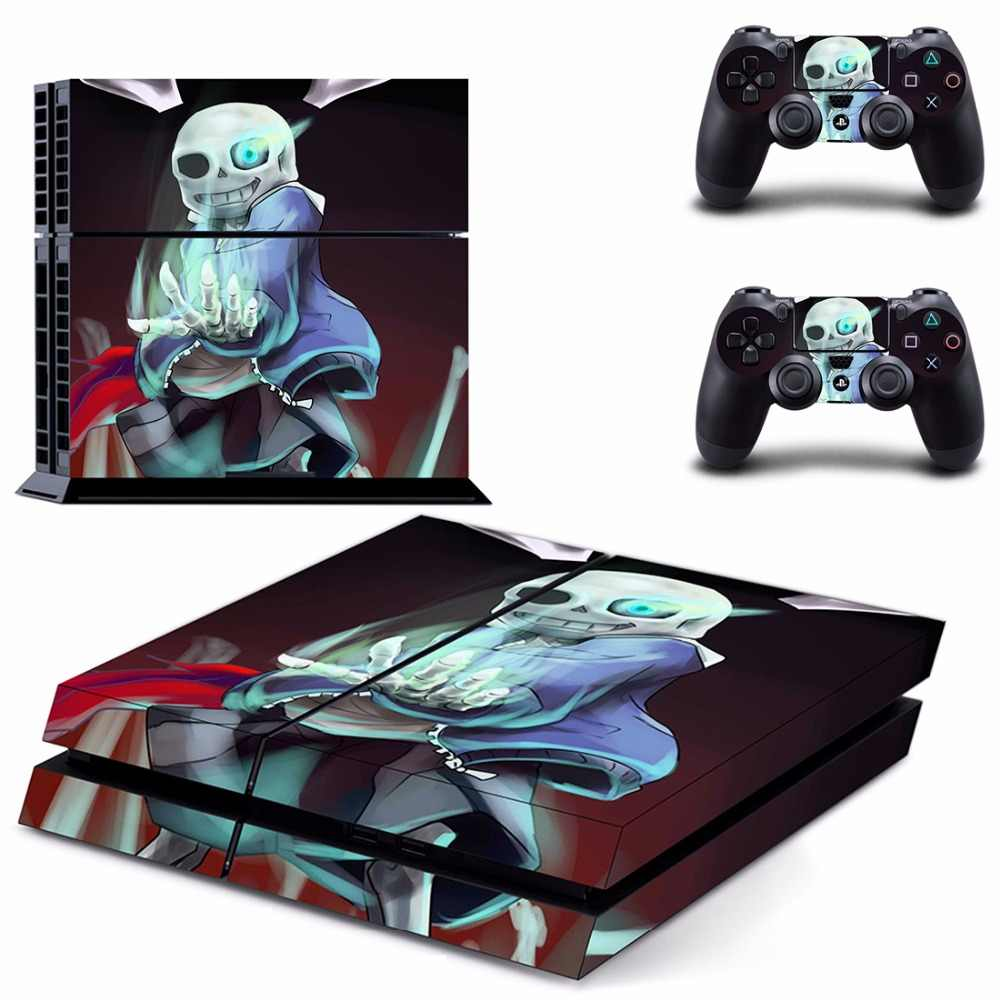 Game Undertale PS4 Skin Sticker For Sony PlayStation 4 Console and  Controller For Dualshock 4 PS4 Skins Sticker Decal Vinyl