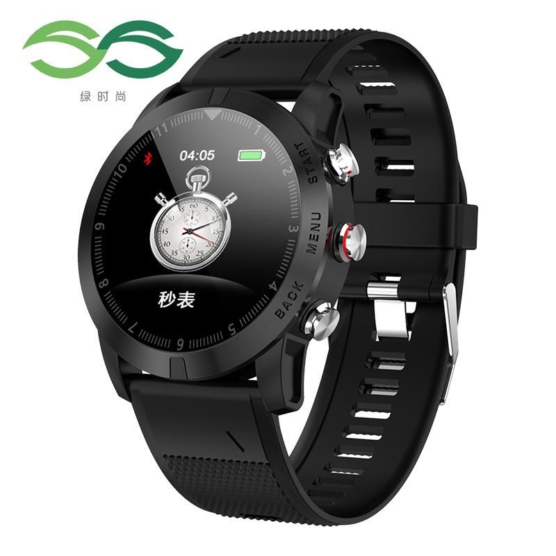 Livraison gratuite fréquence cardiaque et surveillance du sommeil montre intelligente boussole chronomètre podomètre Bracelet d'exercice S10