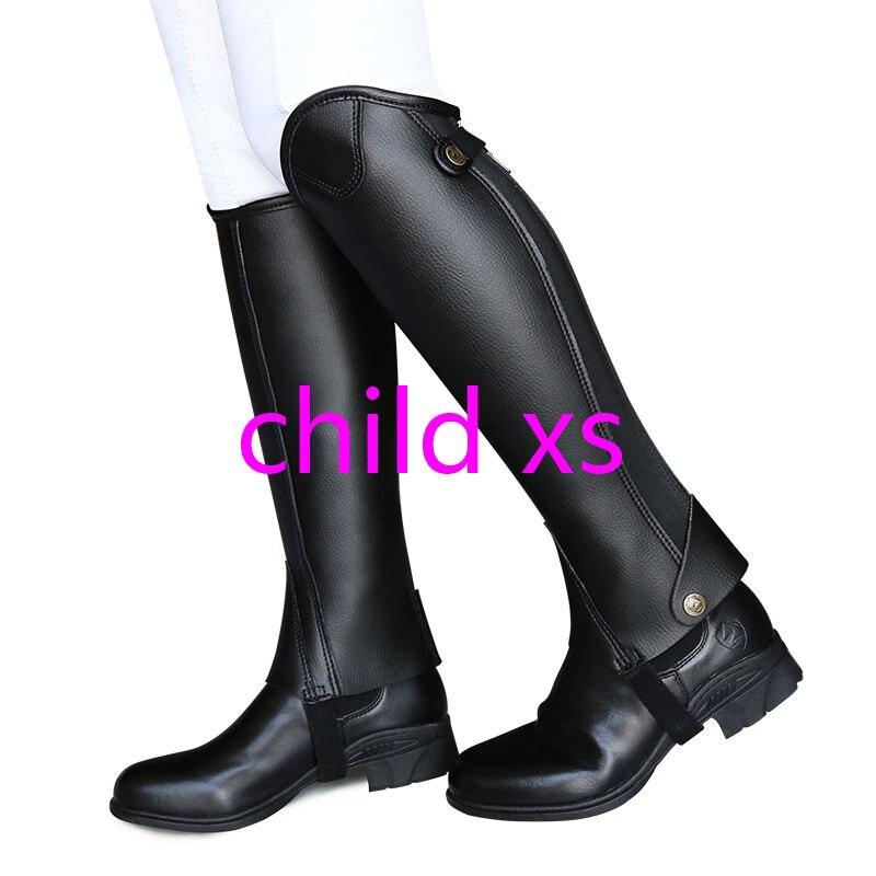 Ультра-Волоконный наездник, защита ног для верховой езды, удобные и износостойкие наездники, оборудование XXXXL для взрослых и детей - Цвет: Пурпурный