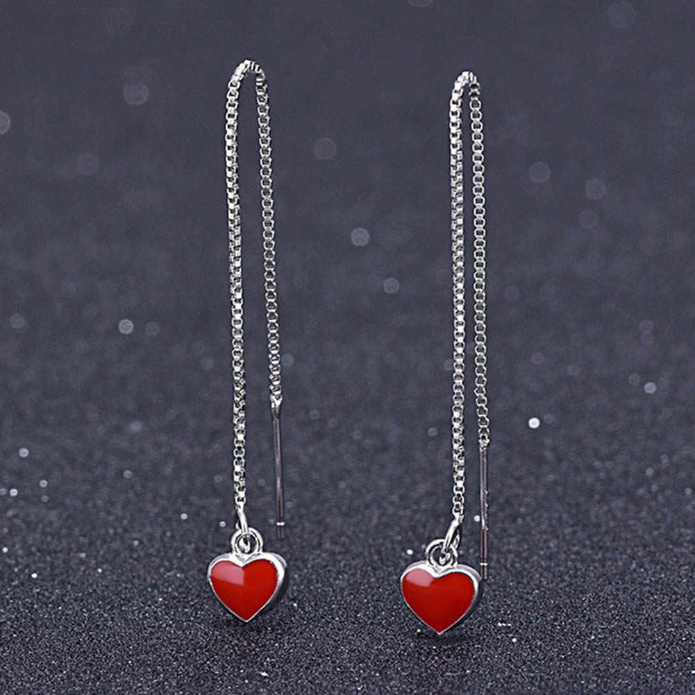 Tình Yêu Màu đỏ thời trang trái tim kim loại vòng tay cho nữ màu vàng Vòng Tay & Lắc tay Quà tặng tốt nhất cưới trang sức dự tiệc bán buôn