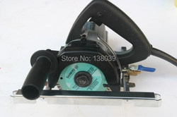125mm wet stone cutting machine stone cutter cutting granite marble tile covex and straightcutting