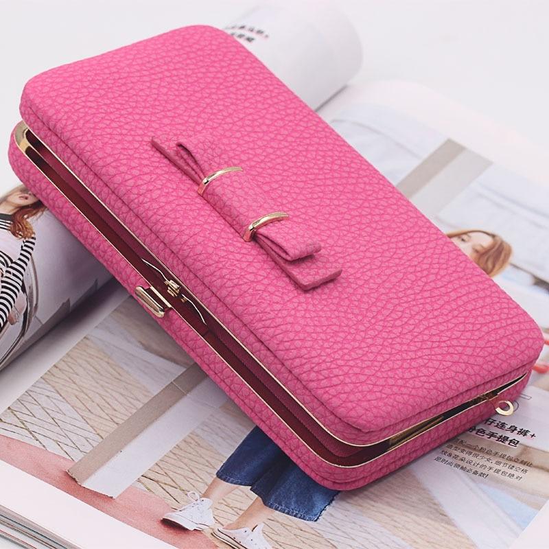 Նորաձևության կանայք դրամապանակ - Բջջային հեռախոսի պարագաներ և պահեստամասեր - Լուսանկար 5