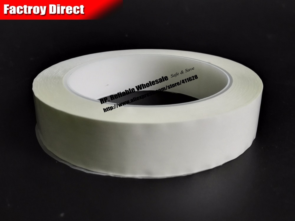 60mm*66M Single Sided Sticky Isolating Mylar Tape for transformers, Fireproof, White size 65mm 66meter single sided glued insulating mylar tape for transformers fasten blue