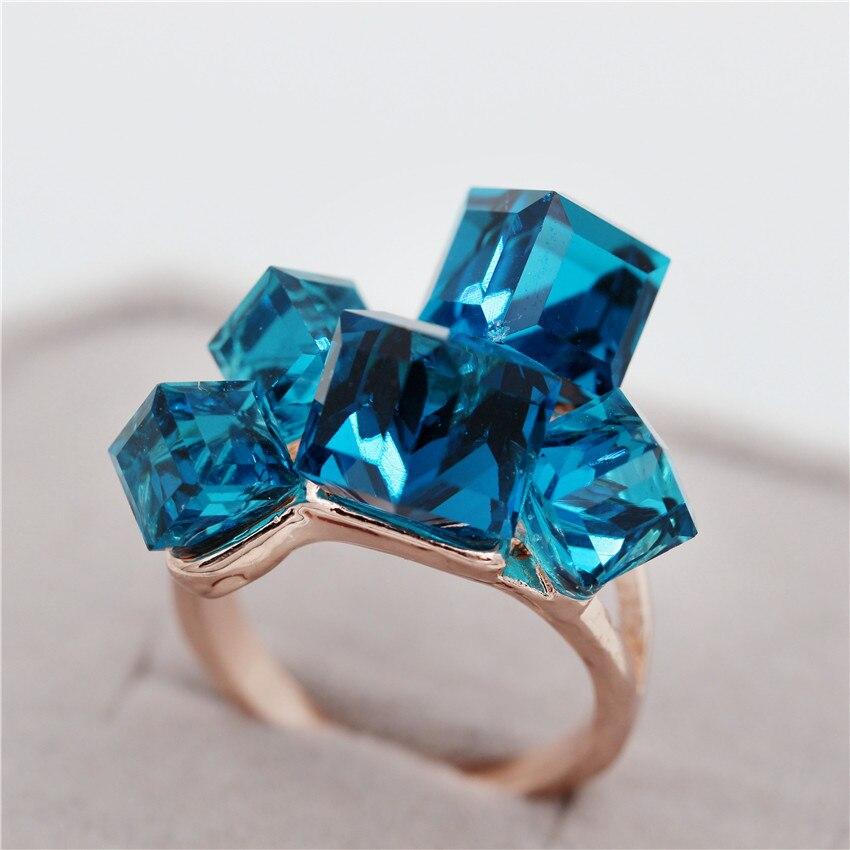 Uloveido Sale Gaver til nytår Rose Gold Color smykker Kvinders - Mode smykker - Foto 6