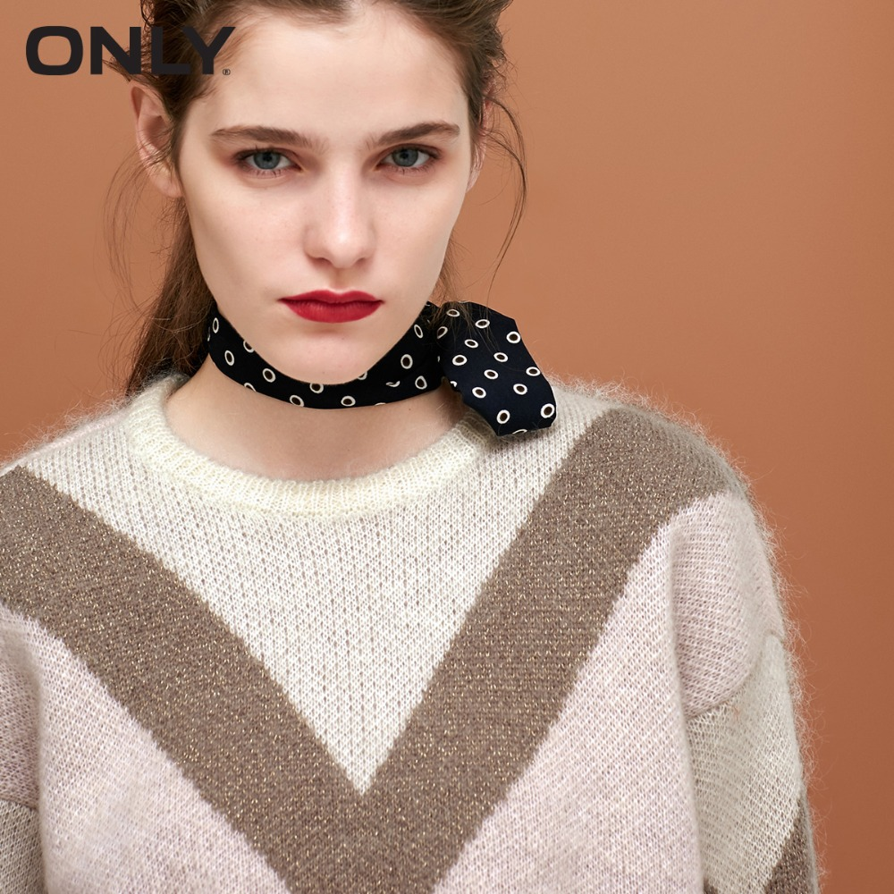 Image 4 - ONLY Women's Metal Wire Assorted Colors Knitted Pullover Sweater118324556-in Pullovers from Women's Clothing
