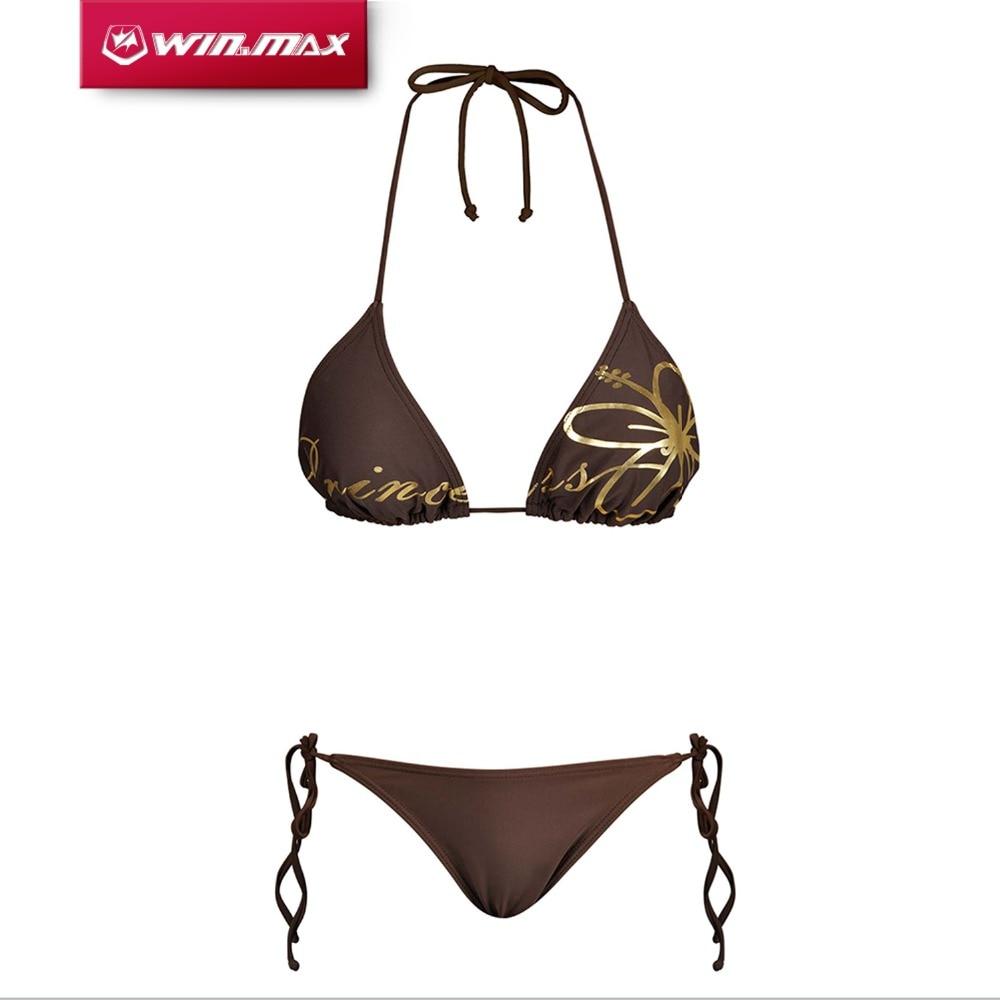 Women's Intimates Sweet-Tempered Womail Swimwear 1 Pc Sexy Women Print Push-up Padded Bra Beach Bikini Set Swimsuit Swimwear 2018 Dec 3