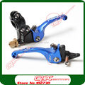 ASV clutch and brake folding lever set  for Kayo Apollo Bosuer Xmotos Dirt bike  Pit bike spare parts free shipping  Blue
