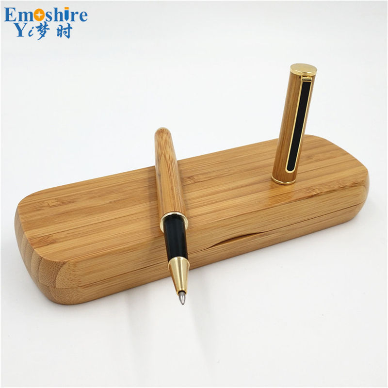 New Creative Manufacturers Supply Signature Pen  Wood Pencil Box Ballpoint Pen Wholesale Custom Beautifully Wedding Gifts P183 loft garden pendant lamps  bamboo
