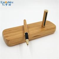 Nieuwe Creatieve Fabrikanten Supply Handtekening Pen Hout Potlood Doos Balpen Groothandel Custom Prachtig Huwelijksgeschenken P183