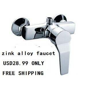 Zink alloy Shower faucet hot and cold shower set shower faucet mixing valve concealed 3 tap connect 3 4 5 gear screw thread thermostatic faucet valve shower room mixing valve cold and hot water switch separator