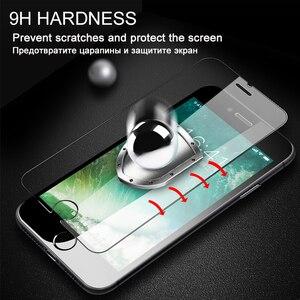 Image 4 - 3 adet Için HD Temperli Cam iPhone 6 6s 7 8 Artı Ekran Koruyucu Için iPhone X XS MAX XR 5 5s SE 10H Koruyucu Cam Filmi