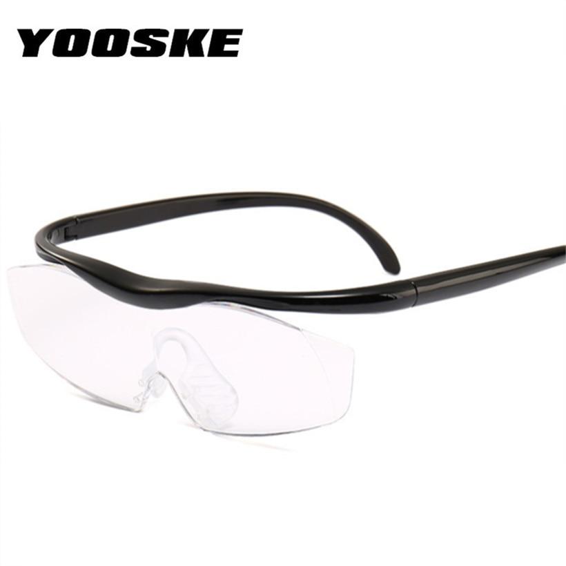 422d27dd5 YOOSKE Grande Visão 1.8 vezes Amplia 300 Graus Lente Lupa Lupa Óculos Para  Presbiopia Óculos de Leitura Presbiopia Eyewear