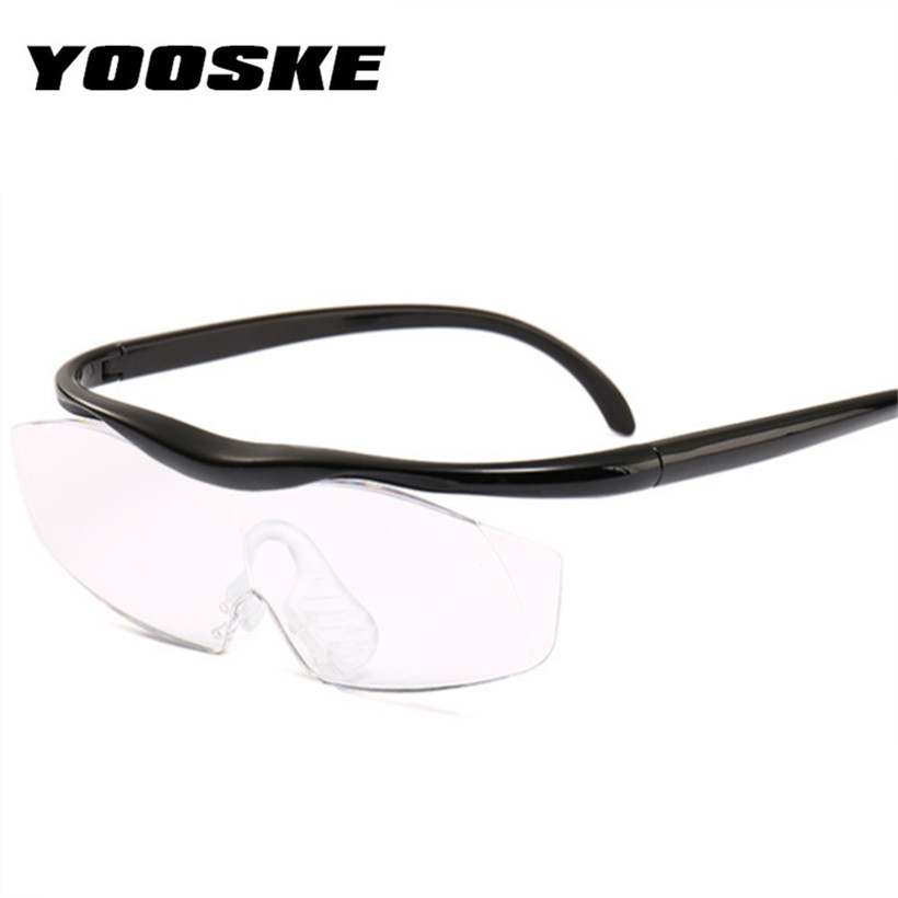 0a7bfe34d YOOSKE Grande Visão 1.8 vezes Amplia 300 Graus Lente Lupa Lupa Óculos Para  Presbiopia Óculos de Leitura Presbiopia Eyewear