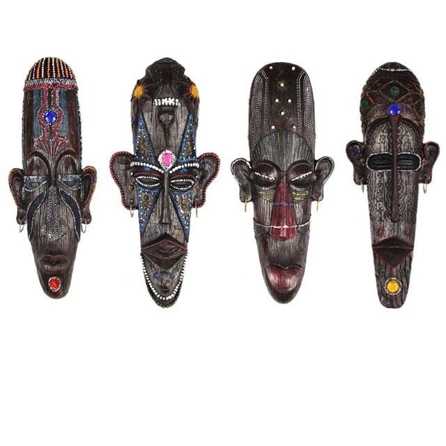 Coole Bar Dekoration 3d Afrika Kunst Maske Handwerk Figur Dekor