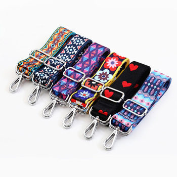 Rainbow Belt Bag Straps Nylon for Women Shoulder Messenger Bags Adjustable Wide Strap Part Accessories Obag Handle Corssbody - discount item  39% OFF Bag Parts & Accessories
