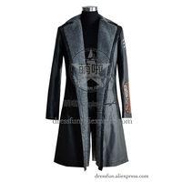 Отряд Самоубийц косплей Капитан Бумеранг костюм Новый плащ наряд униформа костюм Хэллоуин вечерние партия Быстрая доставка