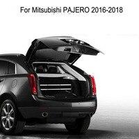 Авто Электрический хвост ворота для Mitsubishi PAJERO 2016 2017 2018 дистанционное управление автомобиля для подъема багажника