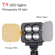Фотография Orsda T4 LED video light Wedding photography digital dimming high-brightness high-power flash knob