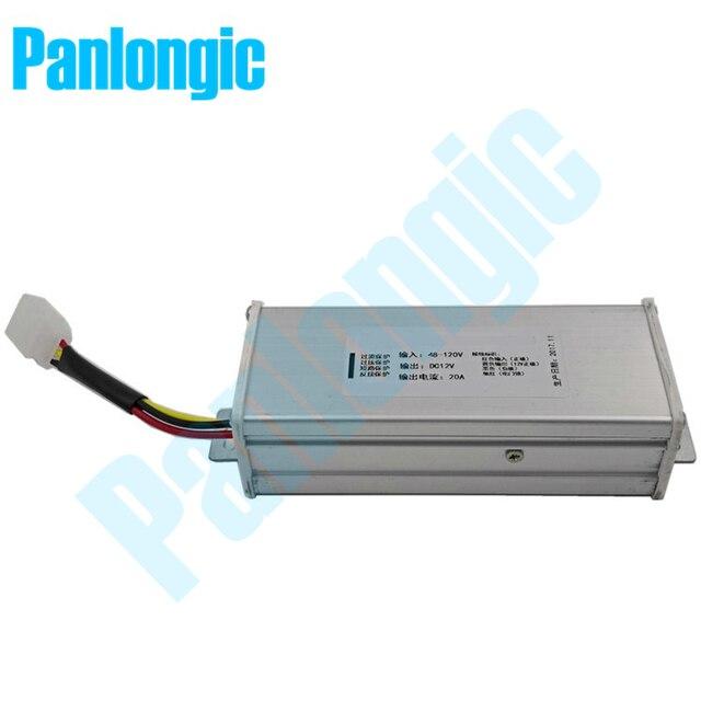 Electric Car & Vehicle Battery DC to DC 48V 120V Convert to 12V ...