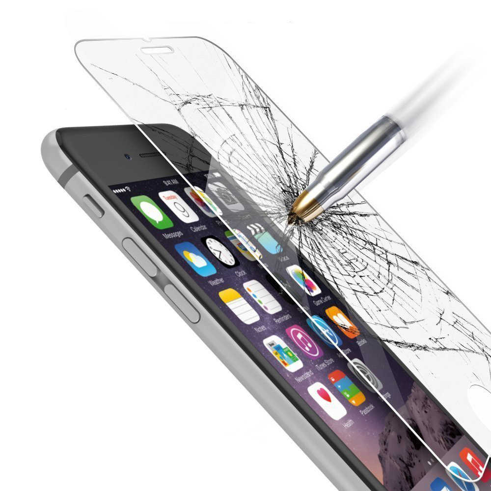 """Anti-Esplosione di Vetro Temperato per iphone 6 S 4.7 """"2.5D arc Schermo Duro Protector per iphone 5 6 7 più 5C SE copertura in vetro"""