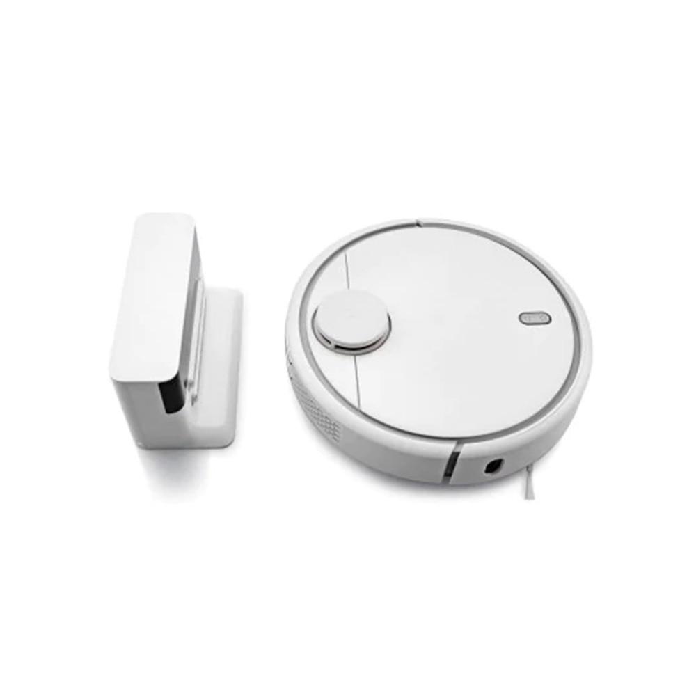 360 Gradi Robot Aspirapolvere Potente Altamente Intelligente Sensibile di Precisione Per La Pulizia di Casa Dispositivo di Vacume Cleaner Rotondo Bianco