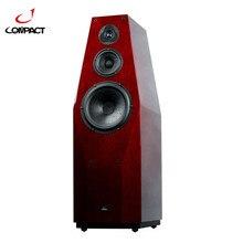 COMPACT X8 10″ 3-Way 3-Driver Flagship Floor-Standing Speaker HI-END Wood Speaker ScanSpeak Driver 5-inches Mid-range drivers