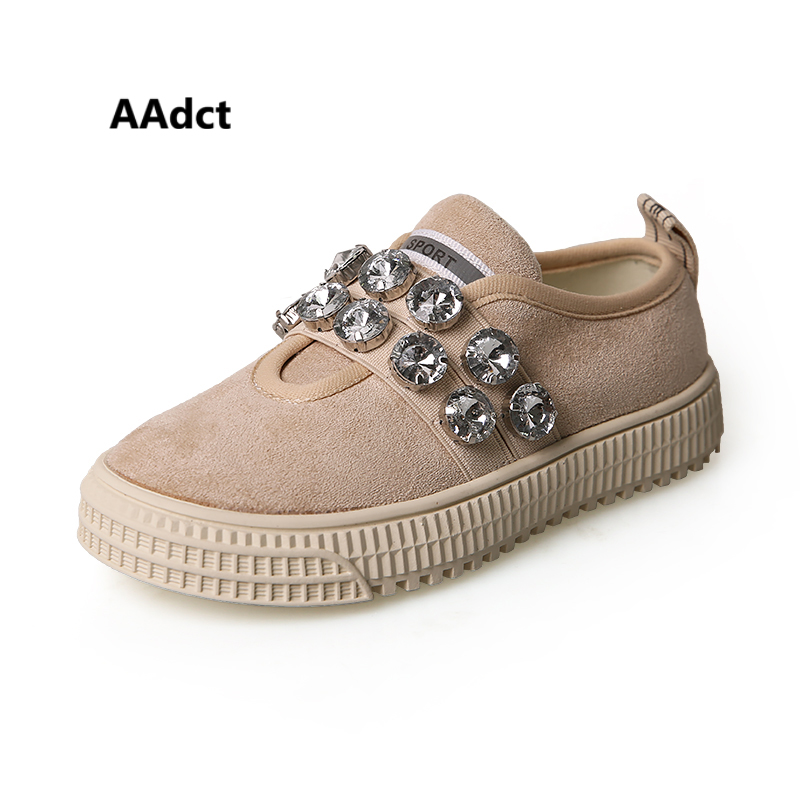 AAdct 2019 sports princess girls shoes new fashion little kids shoes for girls big rhinestone casual children shoes sneakers