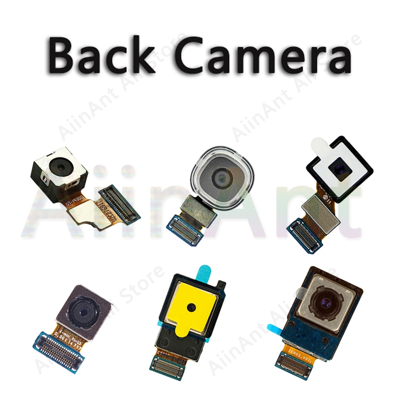 Back Camera Lens For Samsung Galaxy S3 I9300 S4 I9500 S5 G900 S6 Edge Plus Mini Rear Big Main Back Camera Flex Cable Parts